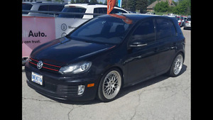 2010 VW GTI with DSG and Jacky cloth