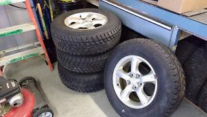 pneus 16 pouces avec mags