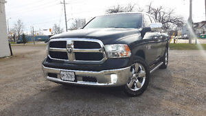 2014 DODGE RAM 1500 HEMI CHROME WHEELS