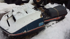 Over 30 Vintage Snowmobiles for Parts or Restoration