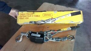 Cable Power Puller new - Extracteur à cable neuf 4 tonnes. . .