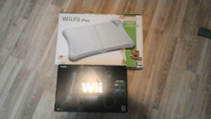 Console Wii + Wii Fit plus