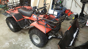 Suzuki  LTF4WD 4x4 with plow/winch