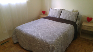 4-BD. Furnished House for short term.
