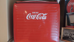 Nice restored portable  coke cooler