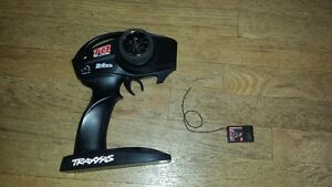 RC Traxxas Remote and receiver 2.4 ghz