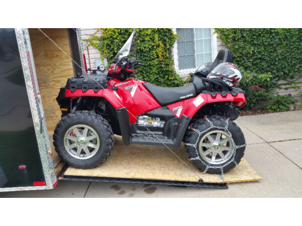 Used 2014 Polaris 550 Sportsman Touring EFI - power steering