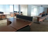 Desk top screen dividers. Cheap to clear. Delivery