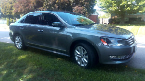 2013 DIESEL - Volkswagen Passat (With VW extended warranty)