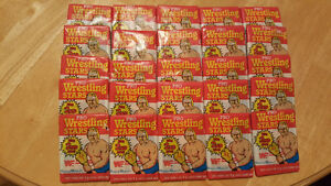 WWF Pro Wrestling Stars Wax Packs O-Pee-Chee, Series 2, 1986
