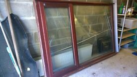 Hardwood window for sale.