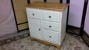 Cherry Kitchen Island/Hutch