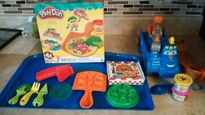 Playdough and accessories