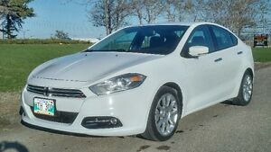 2015 Dodge Dart Limited Loaded Luxury 40km Remote Leather NAV