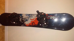 163 cm Lemar Mission Board with FLOW bindings