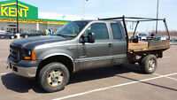 2006 Ford F-250 XL Pickup Truck Flatbed