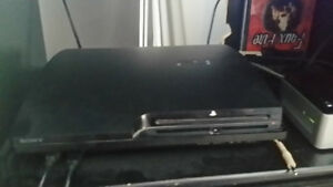 160gb ps3 and 18 games