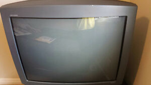 """RCA 32"""" Colour Television with TV Stand"""