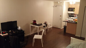 Private studio 1 1/2 with all included for subleasing/transfer