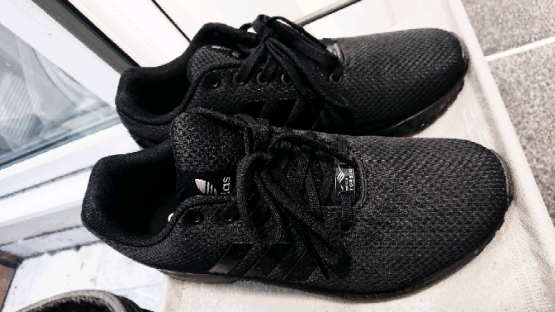 huge selection of df12a ce191 Adidas zx flux triple black gloss | in Wood Green, London | Gumtree