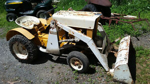 cub cadet 100 tractor  with loader