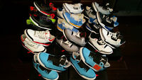 Over 80 pairs of Jordan Shoes, Runners, Nike, Lebron, Kobe, Dunk
