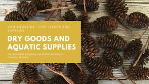 Indian Almond Leaves, Alder Cones, Cholla Wood & More!