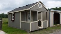 Totally mobile hunting and fishing cabins