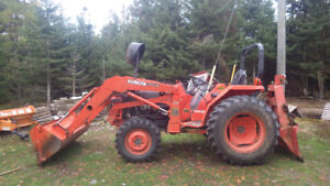 For Sale - '93 Kubota Farm Tractor L3450DT - 4WD