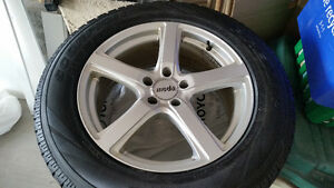 4 winter tires and rims for less than cost of rims alone