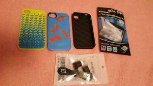 Iphone 4 / 4s cases and new screen protector