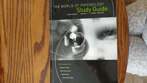 The World of Psychology - Study Guide Cambridge Kitchener Area image 1