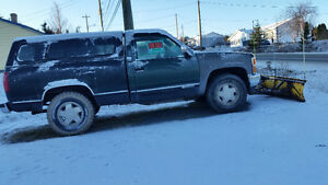 1994 Chevrolet C/K Pickup 1500 Pickup Truck with plow