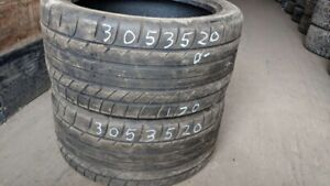 Pair of 2 Mickey Thompson Street Comp 305/35R20 tires (40% tread