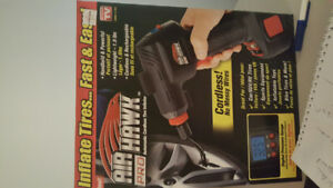 Tire  Inflator air hawk pro cordless brand new