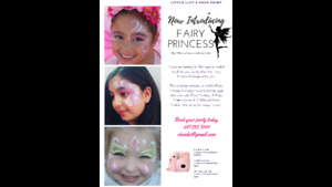 Face Painting - Fairy Princess Package