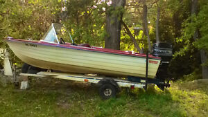 Boat,Motor and Trailer