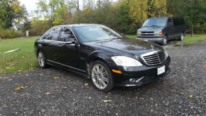 Mercedes 2007 S550 with S63 logos