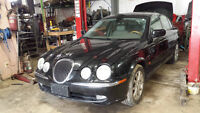 WE ARE PARTING OUT A 2000 JAGUAR S-TYPE