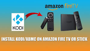 AMAZON FIRE TV STICK JAILBROKEN WITH XBMC KODI 17.1 BRAND NEW