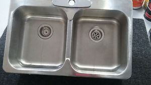 Evier double stainless Saguenay Saguenay-Lac-Saint-Jean image 1