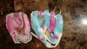 Princess Baseball Glove Sets
