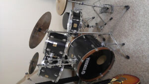 Yamaha Black DP Drumm Kit