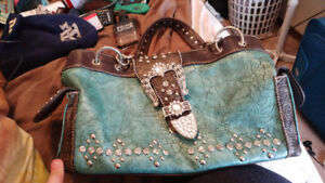 Turqouise purse for sale