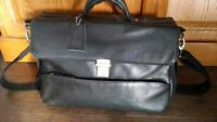 Stolen - Brown Danier Leather Laptop Bag with Contents