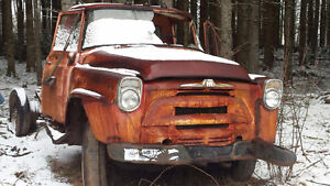 Parting Out 57 International Truck