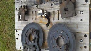 JEEP Cherokee Dana 35 44 Rear Axle Drum to Disc Brake Conversion Kit