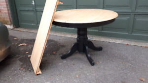 Round Pine Table - $80.00