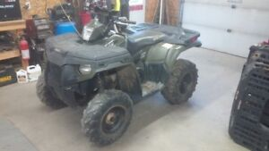 PARTING OUT ONLY 2011 POLARIS SPORTSMAN 500HO