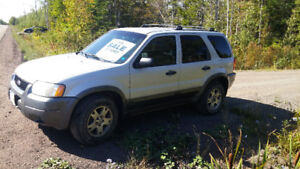 2003 Ford Escape-good hunting vehicle